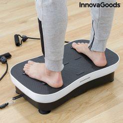 Plateforme vibrante avec elastiques confort pieds