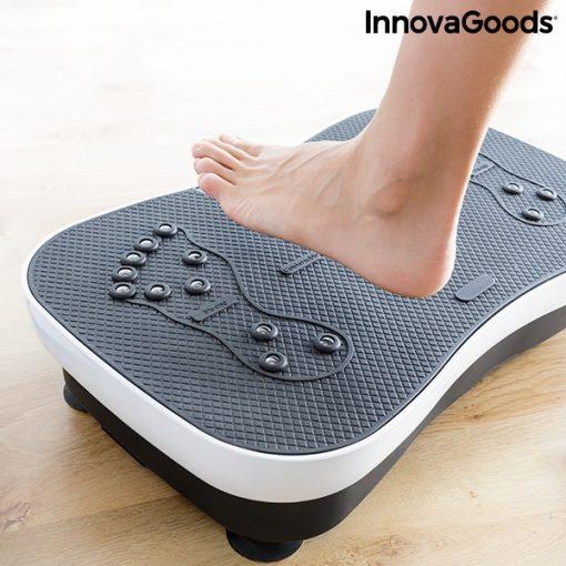 Plateforme vibrante avec elastiques forme pieds