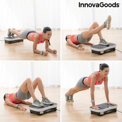 Plateforme vibrante avec elastiques exemple exercices