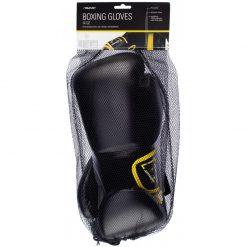 gants de boxe noir kick boxing 14 oz poids moyen packaging
