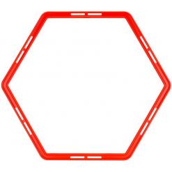 grille d agilite 6 pieces alveole anneau en forme hexagone