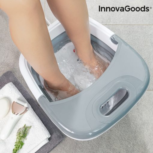 appareil spa pour bain pieds pliable aqua relax innovagoods relaxation
