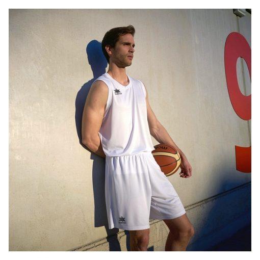 Débardeur pour homme blanc Pol Luanvi basketball