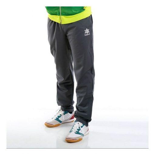 homme portant Pantalon jogging homme gris Pike Lagos Luanvi