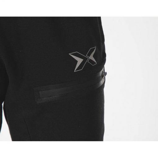 pantalon jogging sport fitness musculation homme noir core picsil poche