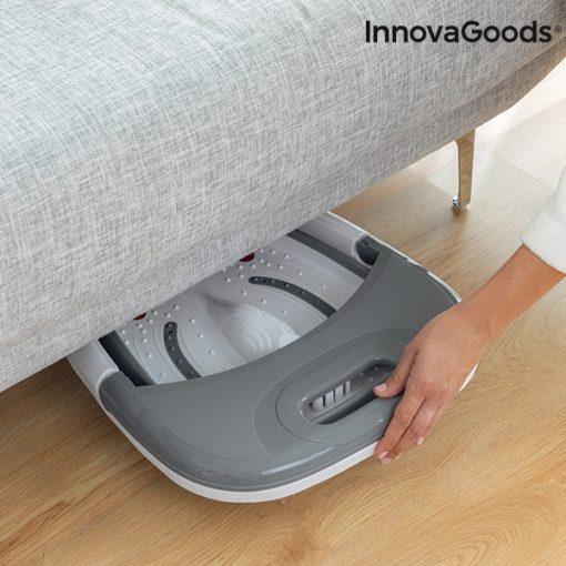 appareil spa pour bain pieds pliable aqua relax innovagoods facile a ranger