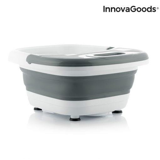 appareil spa pour bain pieds pliable aqua relax innovagoods 450w