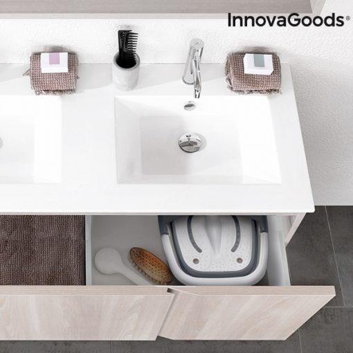 appareil spa pour bain pieds pliable aqua relax innovagoods salle de bain