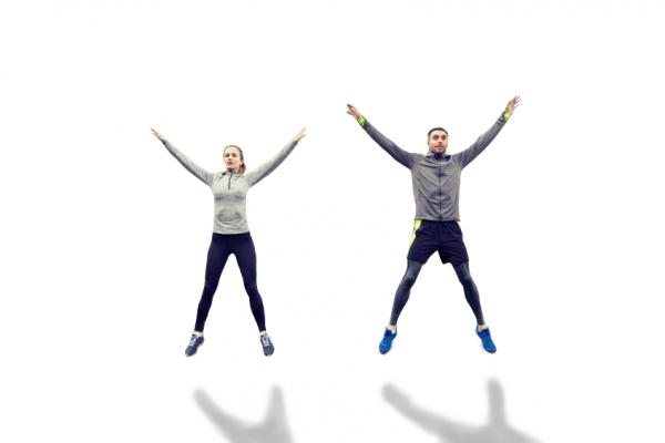 exercice jumping jacks