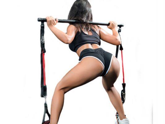 exercices avec barre elastiques