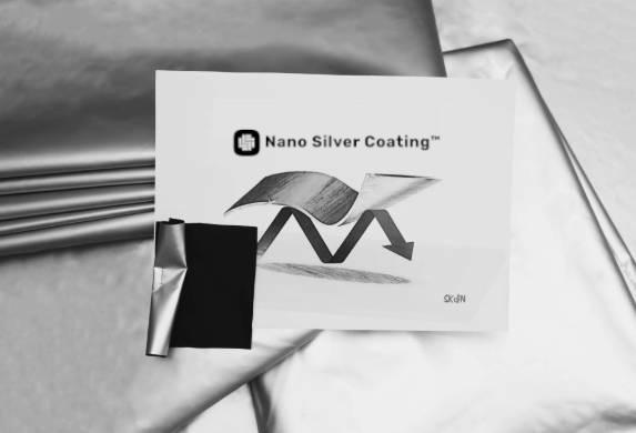 vetements tenues sudation technologie nano silver coating